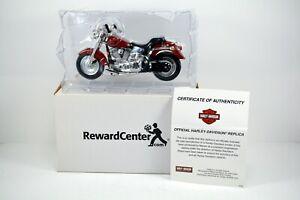 Maisto Harley Davidson - 2000 FLSTF Fatboy - 1:18 Model - Series 22 +COA