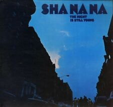 SHA NA NA the night is still young 2319 019 uk kama sutra 1972 LP PS EX/VG+ wos