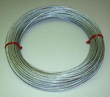 30 m Fil d'antenne - 3 mm - galvanisé en PVC (H1092)