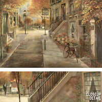 """36W""""x24H"""" SCHOOL OF PERFORMING ARTS by RUANE MANNING - CITY STREET SCENE CANVAS"""