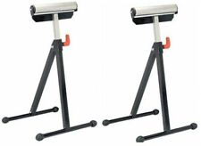 2 -132 Lb Capacity Adjustable Ball Bearing Roller Stands New Free Shipping