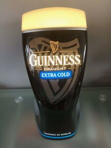 Guinness Extra Cold Vintage Light Up Advertsing Bar Font Breweriana Man Cave
