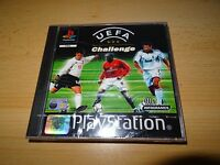 UEFA challenge  2001  ps1 - SEALED  NEW pal version