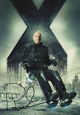 """Patrick Stewart """"X-Men"""" Autogramm signed 20x30 cm Bild"""