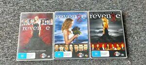 Revenge : Season 1-3 dvd - Very Good Condition