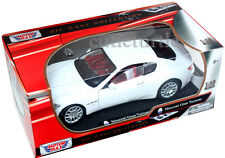 Motormax Maserati Gran Turismo 1:18 Diecast Model Car 79151 White