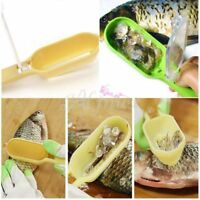Home Kitchen Fish Scales Skin Remover Scaler and knife Fast Cleaner Clean Tool s