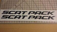 Charger Decal Graphic Vinyl CHALLENGER MOPAR SRT Scat Pack Text Logo HEMI DART