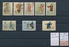 LM13742 China 1962 traditional clothing fine lot used cv 450 EUR