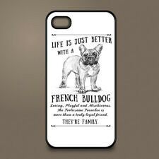 French Bulldog dog phone case cover Apple iPhone Samsung Galaxy ~ Personalised