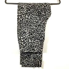 WHBM Womens Pants Leopard Print Slim Ankle Size 6 Regular