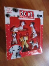 Vintage 1996 Applause 101 Dalmatians Figure Gift Set 5 Pc Wizzer Jewel NOS