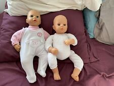 Lot Of Two Zapf 18� Dolls