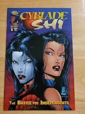 CYBLADE & SHI: THE BATTLE FOR INDEPENDENTS #1 -1st Witchblade/Silvestri Cover