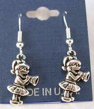 Calling Cheer Cheerleader Earrings French Hooks - Free shipping