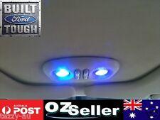 Ford Map Lights Upgrade 2x Blue LED Falcon XT AU BA BF FG G6 XR6 XR8 FPV