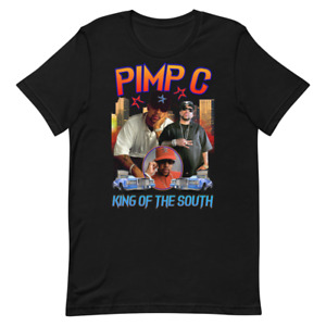 PIMP C. TEE SHIRT (KING OF THE SOUTH) LIMITED EDITION