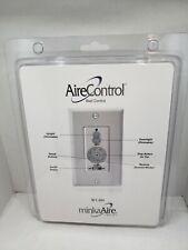MinkaAire WC400 Ceiling Fan Wall Control White for Select MinkaAir Fan Models