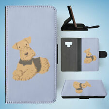 SAMSUNG GALAXY NOTE 9 FLIP CASE WALLET COVER|TERRIER DOG 2