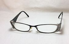 1cd089d7b829 Takumi Eyeglasses FRAMES T9746 90 Brushed Metal Black 50  17 135