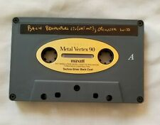 Cassette Tape Maxell Metal Vertex 90 Min. Used Recorded VGC Bach