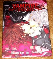 THE ART OF VAMPIRE KNIGHT HARDCOVER MATSURI HINO  NEW UNREAD