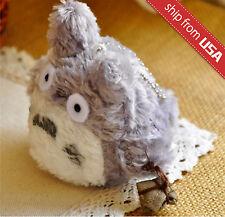"My Neighbor Totoro Studio Ghibli 3.5"" Plush Phone Charm chain Mascot Kawaii Cute"
