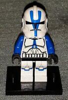 Genuine LEGO Star Wars Minifig 501st Clone Trooper Minifigure