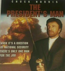 The President's Man DVD - PRESIDENTS MEN - Chuck Norris R4AUS