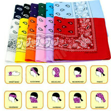 Lot Of 3 Paisley Cotton Scarf Bandana Face Mask Cover Head Wrap Stock In USA