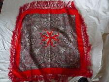 Trachten Kopftuch, Handdruck, Paisley Muster, Ungetragen, 75 x75 cm