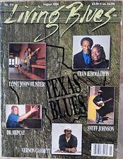 LIVING BLUES MAGAZINE #116 (1994) TEXAS BLUES Clarence Hollimon ZYDECO Dr Hepcat