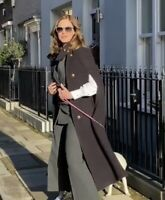 ZARA LIMITED EDITION WOOL CAPE COAT SIZE XS-S BLOGGERS TRINNY FAVE BNWT SOLD OUT