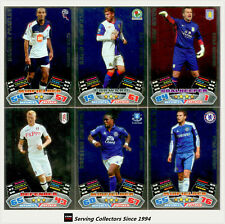 2011-12 Topps Match Attax English Soccer Star Signing Foil Card Set (20)