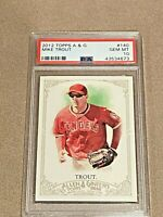 2012 Topps Allen & Ginter A&G Mike Trout RC #140 PSA 10 GEM MINT LA Angels
