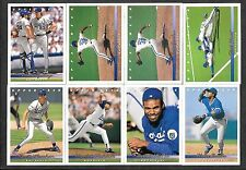 1993 Upper Deck -  Kansas City Royals -  Lot of 8 - NM - See Listing