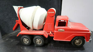 Tonka Square Front End Cement Mixer All Original Pressed Steel