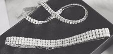 Korean Style Fashion Choker Necklace  - Two Row