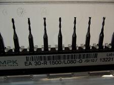 10 Stück VHM  Zweischneiden + Fräser +1,5 mm + + Dremel + Proxxon + CNC