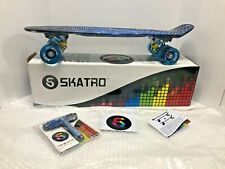 Brand New! Skatro Galaxy - Mini Cruiser Skateboard~22x6inch~220#