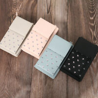 ALL-IN-ONE CROSSBODY SHOULDER PHONE BAG WOMENS PU Leather Mini Purse Wallet