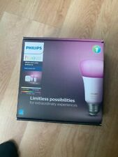 Starter Kit Philips Hue White and Color Ambiance E26 Bulb Starter Kit 2 Bulbs