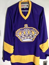 CCM Classic NHL Jersey Los Angeles Kings Team Purple sz M