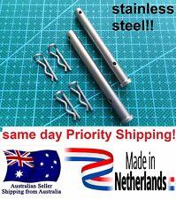 MINO Stainless steel front rear brake pin set KTM EXC SX 125 250 300 450 500 530