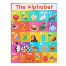 My ABC Alphabet Learn Children's Educational Silk Cloth Poster Decor 45cmx34cm