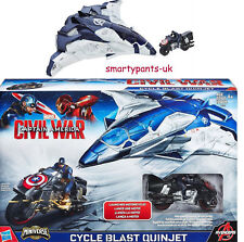 Marvel Captain America Civil War Cycle Blast Quinjet Great Gift Brand New in Box