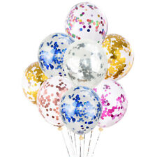 20Pack 12inch Latex Confetti Ballons Happy Birthday Party Ballons Wedding Decor