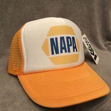 Napa Auto Parts Trucker Hat NASCAR Vintage Style Snapback Cap Yellow  2276