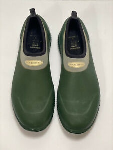 Muck Boot Co Waterproof Muckster Low Rubber Shoes Womens 10/10.5 Mens 9/8.5