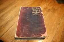 Leather Bound Hand Book of English for Engineers  Sypherd  1913